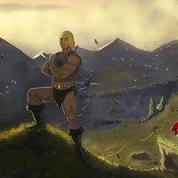 HE-MAN in Eternia
