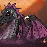 Dragona púrpura