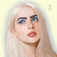 Jade Picon Portrait drawing Oz Galeano