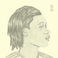 Camavinga Portrait drawing sketch Oz Galeano