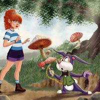 Alicia y Sr Conejo
