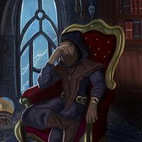 Frustrated sorcerer