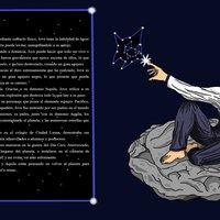 Diseño de personajes del manga 5 elementos: Jove Maxim.