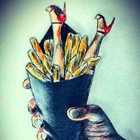 nuggets con fritas