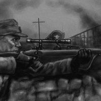 Francotirador Alemán Major König