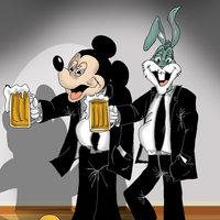 Bugs & Mickey guys