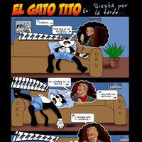 El Gato Tito en: Siesta por la Tarde
