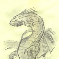 dragon a lapiz