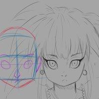 Como dibujar caras estilo anime