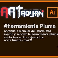 Herramienta Pluma - Ilustrator Fácil