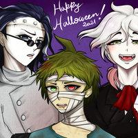 Danganronpa en Halloween!