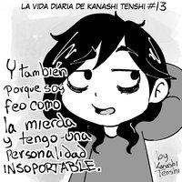 La vida diaria de Kanashi Tenshi