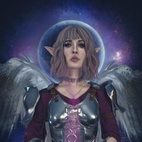 Elfa portadora de la pócima mágica