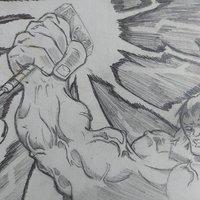 Skechbook  hulk