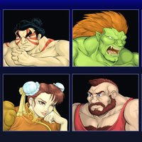 Street Fighter II Redraw