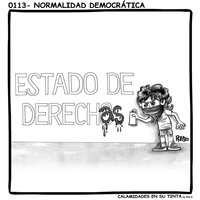 Viñeta 0113- Normalidad democrática