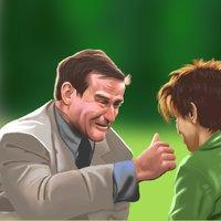 Robin Williams retrato