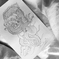 dragon y serpiente