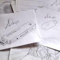 DIBUJO DE MEMORIAS USB PENDRIVES XDEIOS