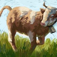 Vaca activa