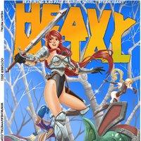 Heavy Metal Magazine cover fanart