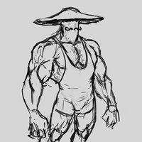 Hongo musculoso luchador que no tiene nombre aún