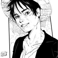 Luffy mi version - AntonioDiaz