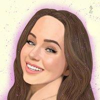 Sasha Portrait Drawing Oz Galeano