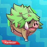 Fakemon....Farmer Boar