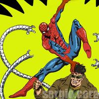 Spiderman y DR.Octopus