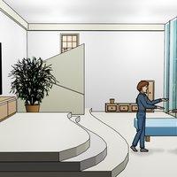 escenarios low poly 3D para comic