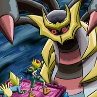 Aron vs Giratina (Pokémon Platino)