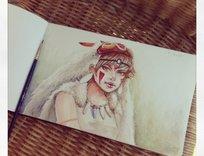 dibujo_diario_dia_2_mononoke_hime_75686.jpg