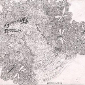 Dinosaurio y Libélulas