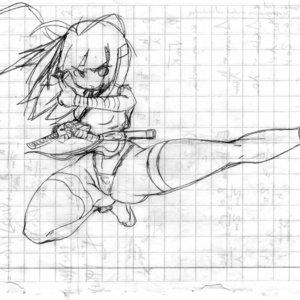 Kunoichi -sexy kick-