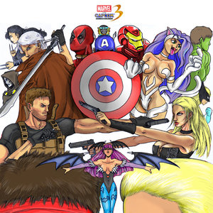 Marvel vs Capcom 3 - color