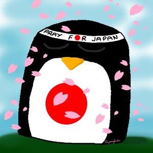 Pingu Pray For Japan