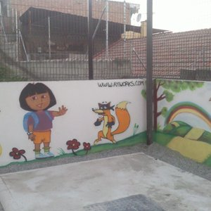 graffiti mural infantil 2