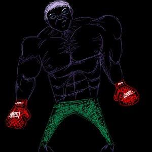 Hulk morado?