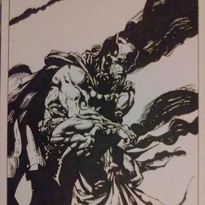 Batman y el humo de chimenea