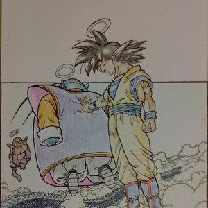 Cuando Goku murio