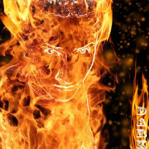 Hombre en llamas