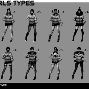 Girls Types