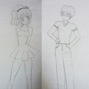 Asami y Hiroshi..... (Libra y Cáncer)