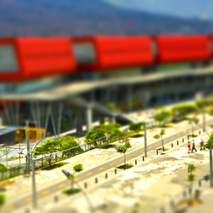 Tilt shift explora