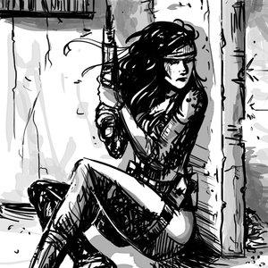 Solid Snake versión femenina