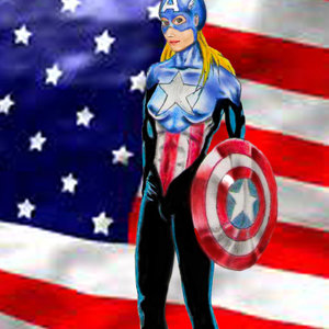 la capitan america