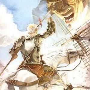 Don Quijote contra los molinos