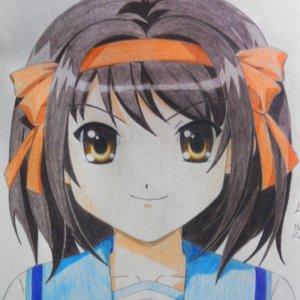 FanArt de Haruhi Suzumiya por mi :)