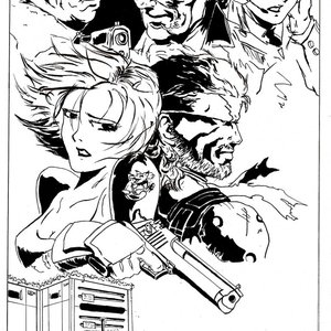 MGS2 Snake Tale Cover